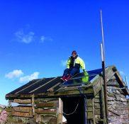 Claire Thorpe Installing Solar Panels